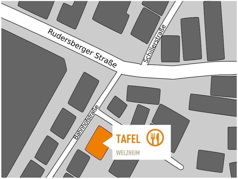 Tafel-Welzheim-Anfahrt